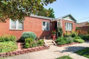 Sold!  Unique corner design – not your standard side-by-side duplex