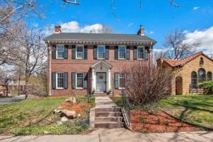 Sold!  Stately Georgian home in prime Park Hill location