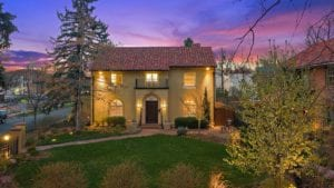 Sold! 5107 E 17th Ave Pkwy – Exquisitely-renovated 1927 Spanish Colonial Revival