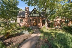Sold!  Vintage Tudor on charming street in walkable South Park Hill